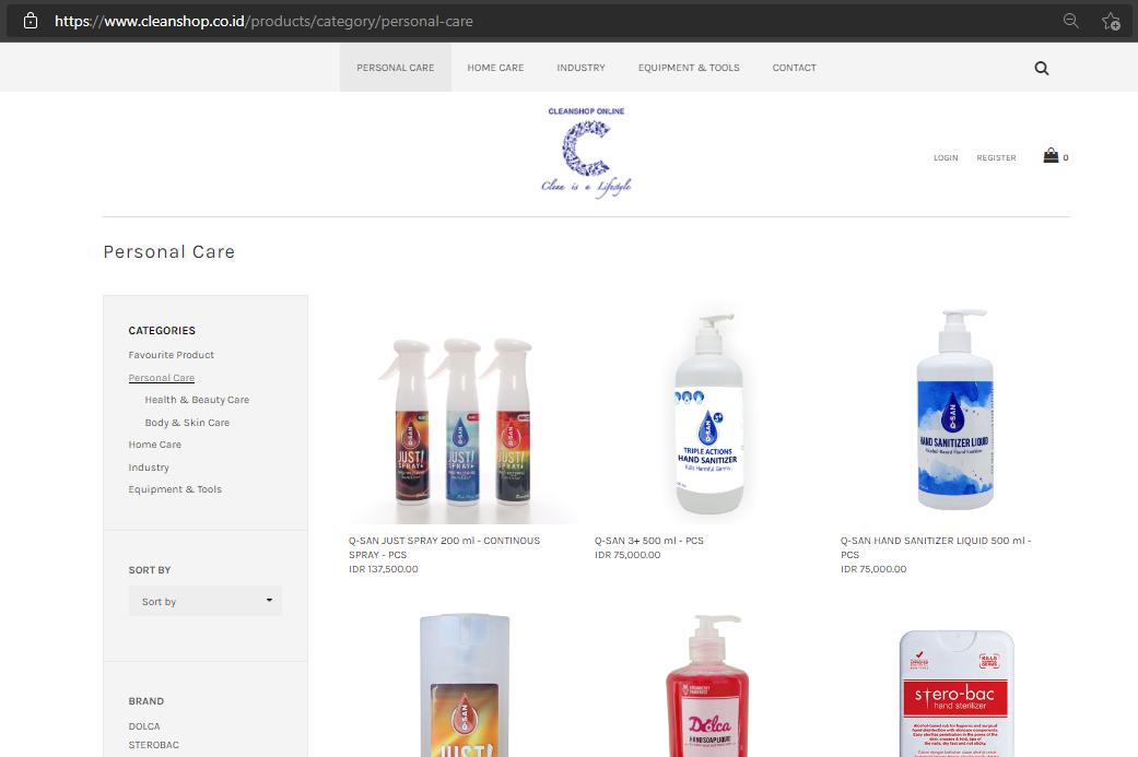 Cleanshop Online