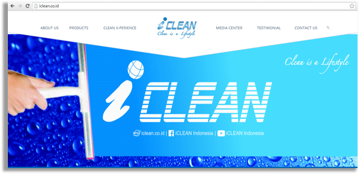 iCLEAN website